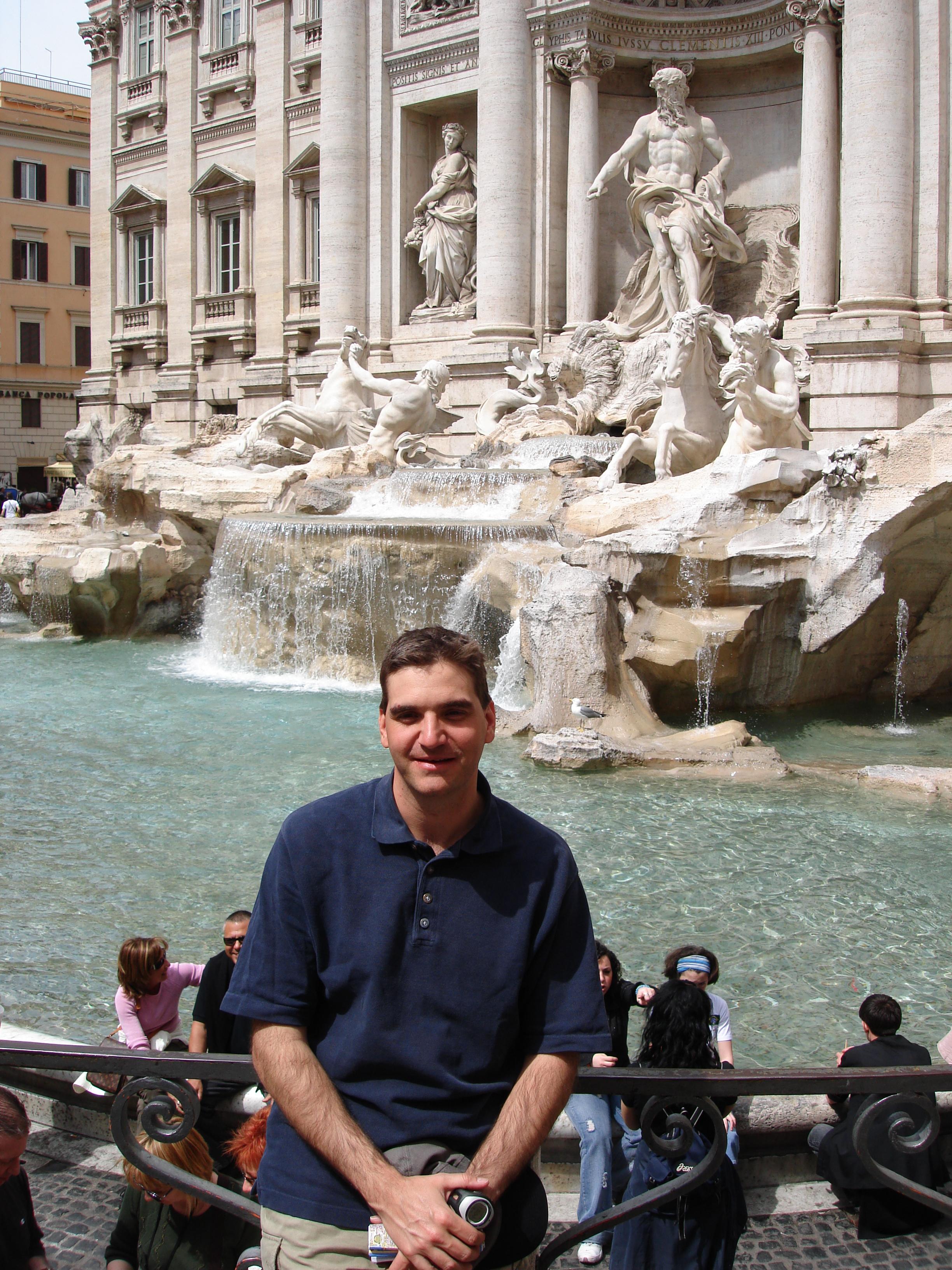 Michael Weilguny in Rom