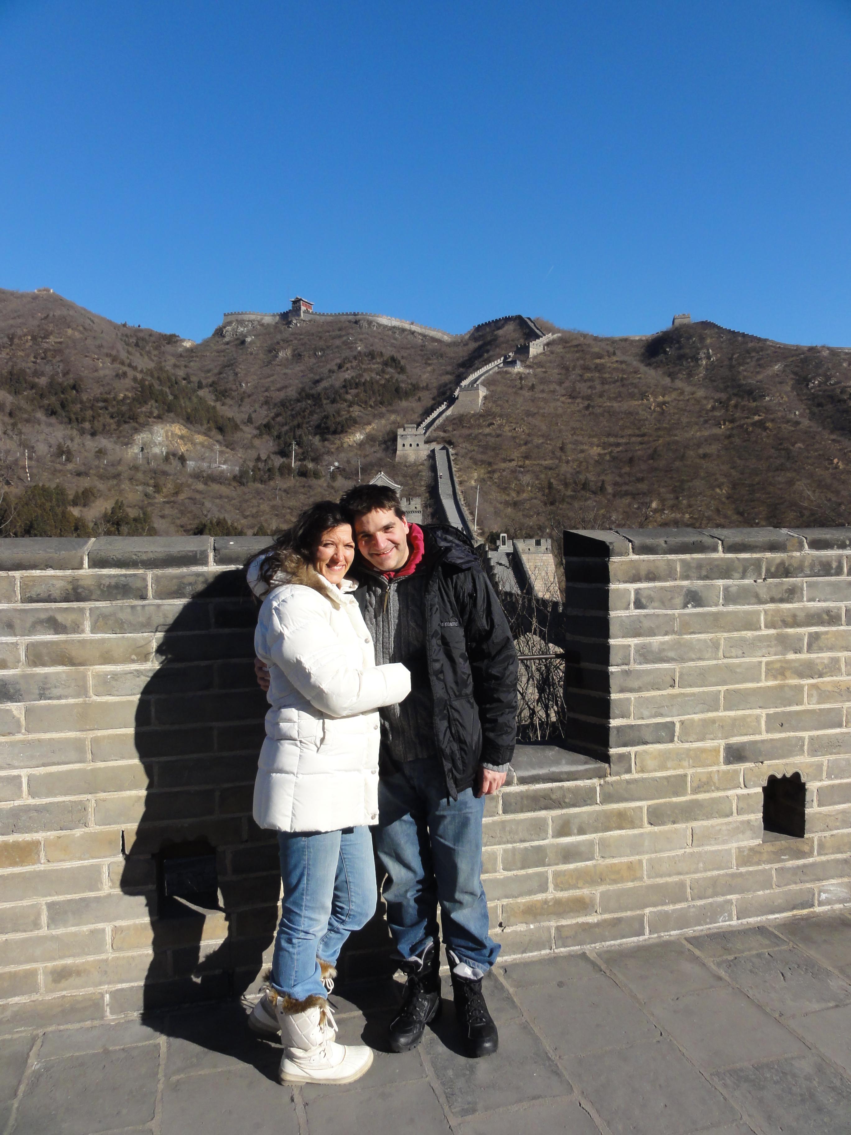 Michael Weilguny auf der Chinesischen Mauer 2014