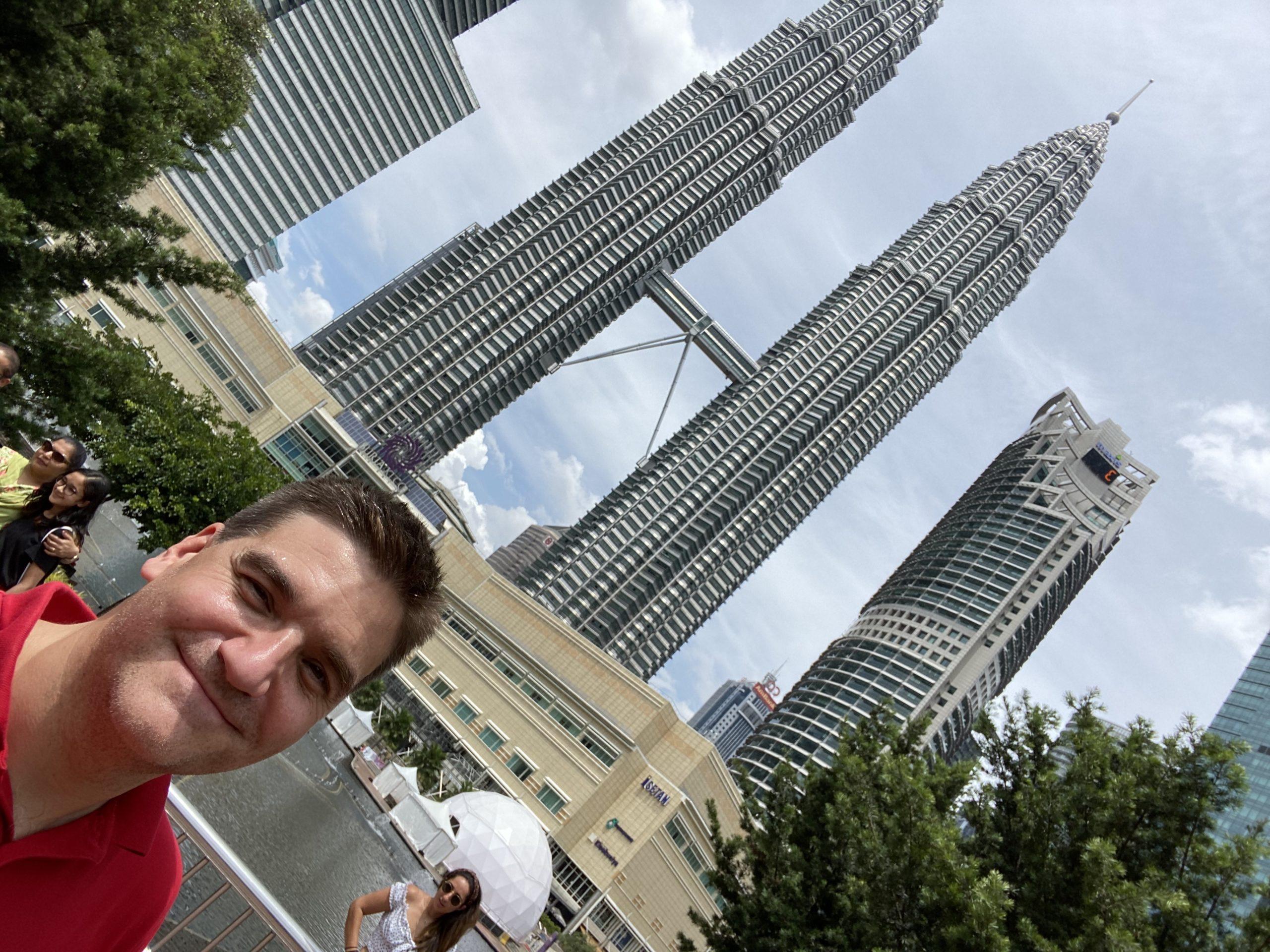 Michael Weilguny in Malaysia Kuala Lumpur 2019
