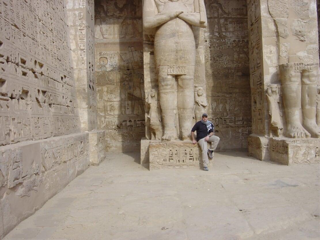 Michael Weilguny Ägypten 2001 Luxor