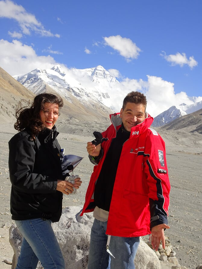 Michael Weilguny Mount Everest Base Camp 2016